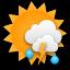 Vereinzelt Regenschauer